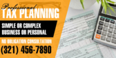 Professional Tax Planning