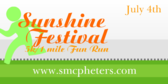 Sunshine Festival 5k 1 Mile Fun Run