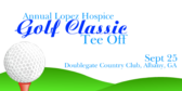 Annual Hospice Golf Classic Tees Off