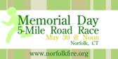 Annual Memorial Day 5-Mile Road Race