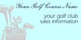 Golf Club Sales Information