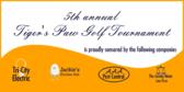 Annual Golf Tournament Sponsor