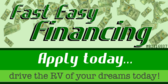 Fast Easy RV Financing