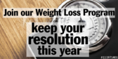 Weight Loss New Year Resolution