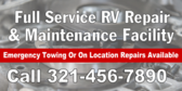 Full Service RV Repair and Maintenance