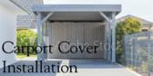 Carport Cover Complete