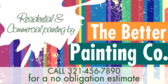 Residential and Commercial Painting By