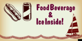 Food Beverage Ice Inside!