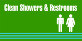 Clean Showers Restrooms