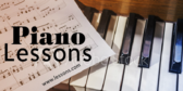 Piano Lessons Your Message Here
