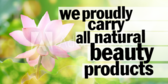 We Proudly Carry (Brand Name) Beauty Products