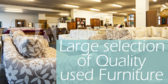 Large Selection of Used Furniture