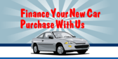Finance Your New Car Purchase With Us