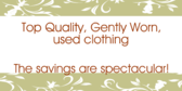 Huge Savings on Clothing