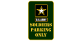 Soldier parking only