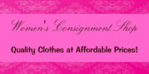 Womens Consignment Store