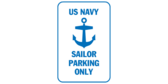 Us navy sailor parking only