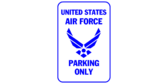 United states air force parking only