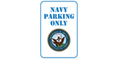 United states navy parking only