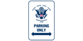 United states coast guard parking only
