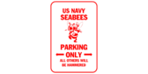 Us navy seabees parking only
