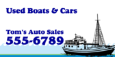 Used boats and Cars