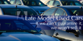 Late Model Used Cars Sale