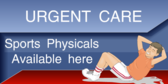 Sports Physicals Available Here