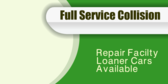 Full Service Collision Repair Facilty