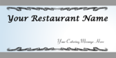 Your Restaurant Name Your Catering Message Here