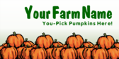 Pumpkin Patch Farm