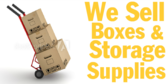 We Sell Boxes Storage Supplies