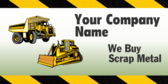 Your Company Name We Buy Scrap Metal