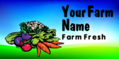 Your Farm Name Farm Fresh