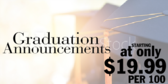 Graduation Announcement Prices