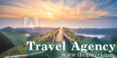 travel agency signs