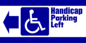 Handicap Parking Left