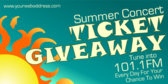 Summer Ticket Giveaway