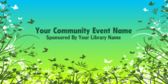 Your Community Event Name Sponsored