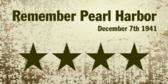 Remember Pearl Harbor 1941 Dec 7th
