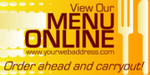 View Our Menu Online