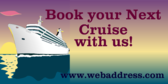 Book Your Next Cruise With Us