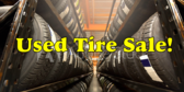 Used Tire Sale!