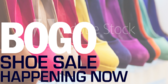 BOGO Shoe Sale Happening Now