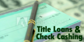 title loan signs