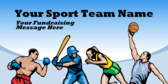 Your Sport Team Name Your Fundraising