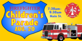 Fire Fighter's Children's Parade