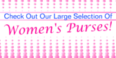 Large Selection Of Women's Purses
