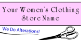 Women's Clothing Alterations