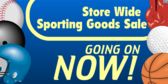 Sporting Good Sale Going on Now